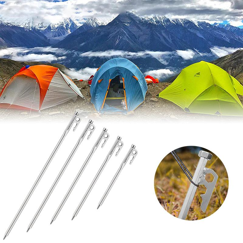Stainless steel Camping Tent Pegs