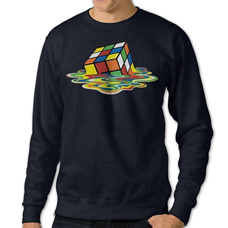 Melting Cube Pullover Sweater