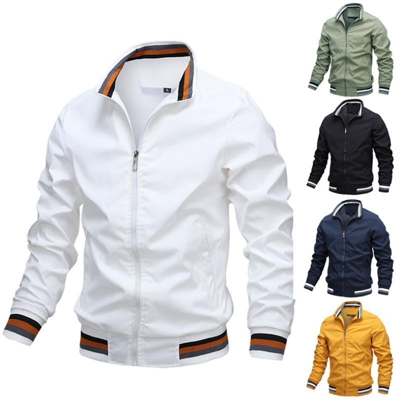 Solid Color Men's Casual Jacket (Pre-sale)