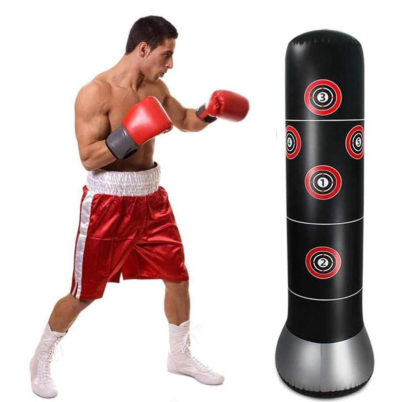 Inflatable Sandbag Boxing Column
