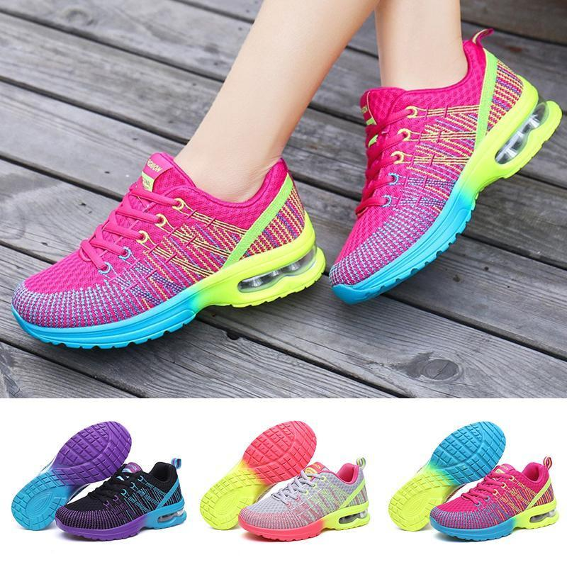 ChainSee Women Fashion Multicolor Breathable Comfortable Athletic Sport Shoes Sneakers Running Shoes