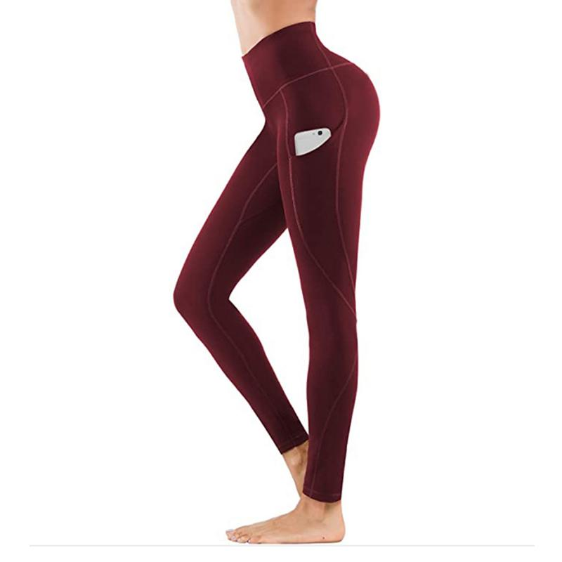 High Waist Stretch Plus-Size Leggings