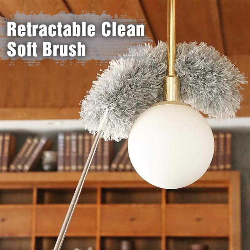 Retractable Soft Cleaning Brush