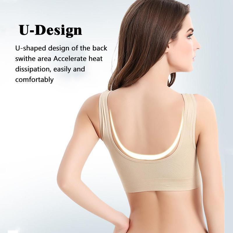Comfortable Seamless Wire-Free Bra (3pcs/set)