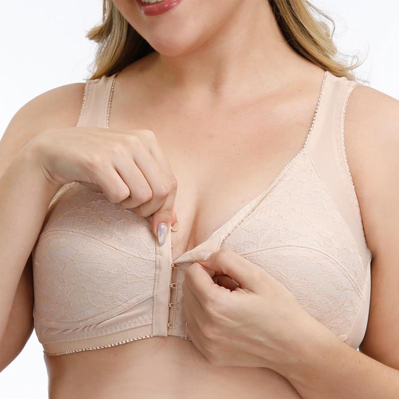 Front Closure Wireless Bra