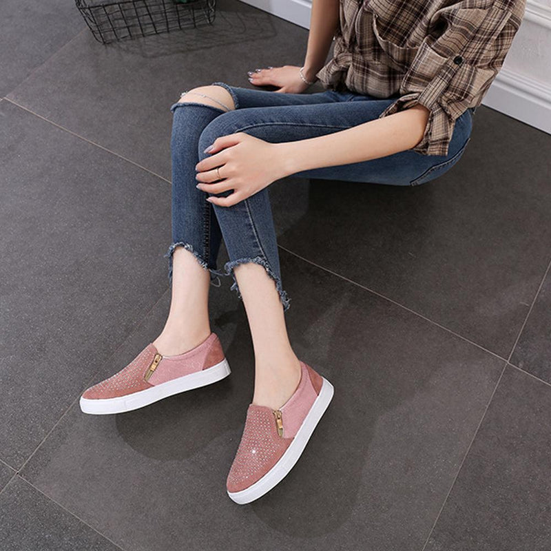 Casual Hollow Slip-on Flat Loafers