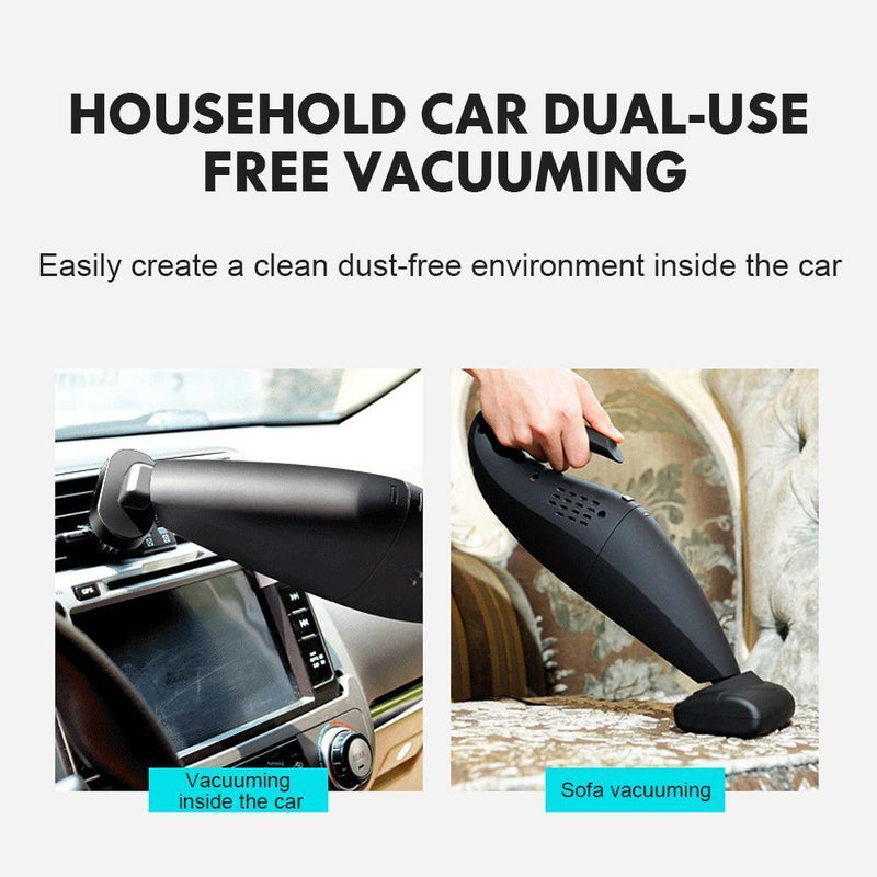 Small Handheld High Power Wireless Household Car Dual-use Vacuum Cleaner