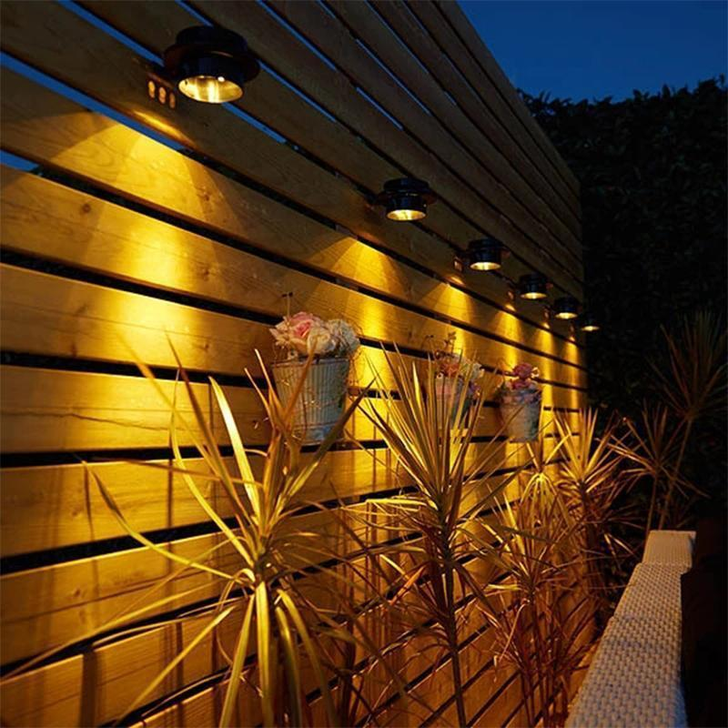 Solar Powered Gutter Lights