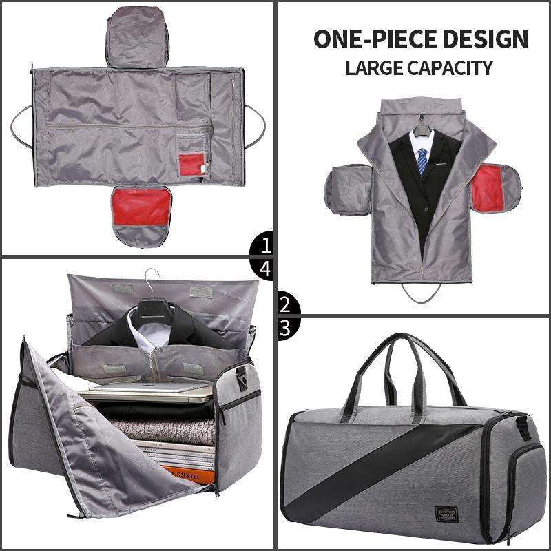 Convertible Garment Bag with Wet Bag