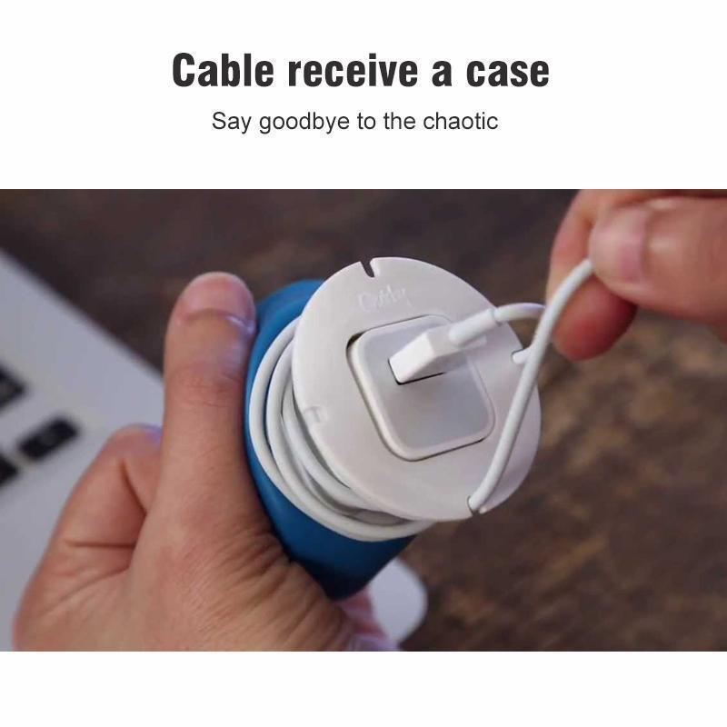 Charger & Cable Storage Case