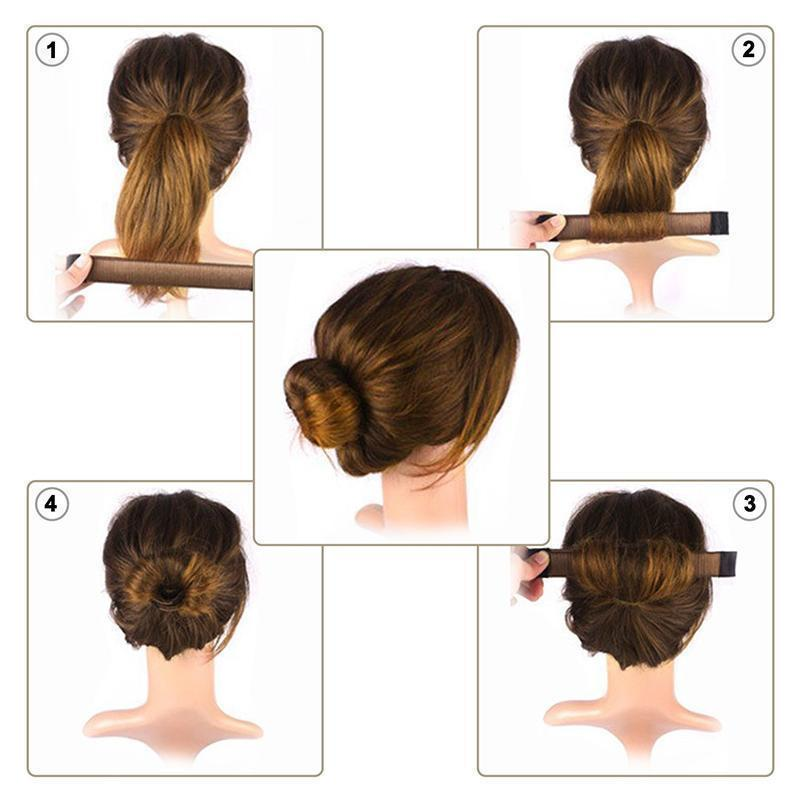 Hair Styling Tool & Hair Bun Maker