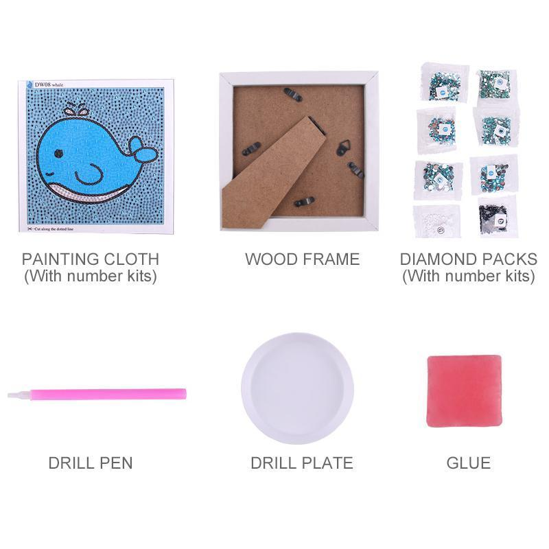 Diamond Painting Kits for Kids