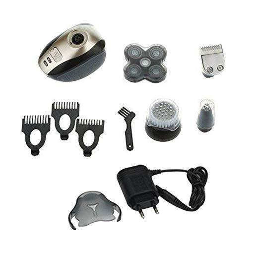 Men's 5 In 1 4D Rotary Shaver Rechargeable