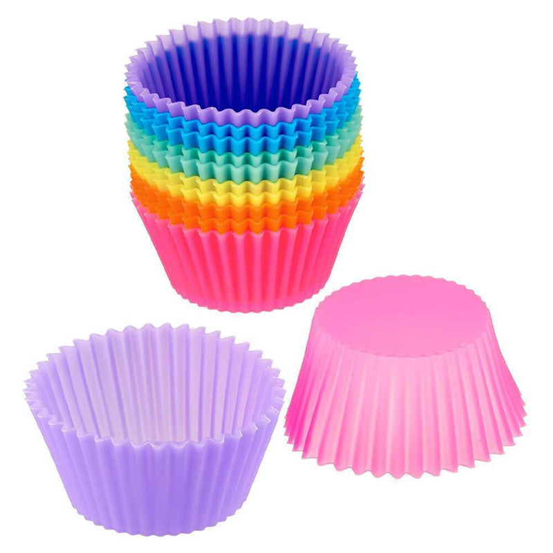 Reusable Silicone Baking Cups