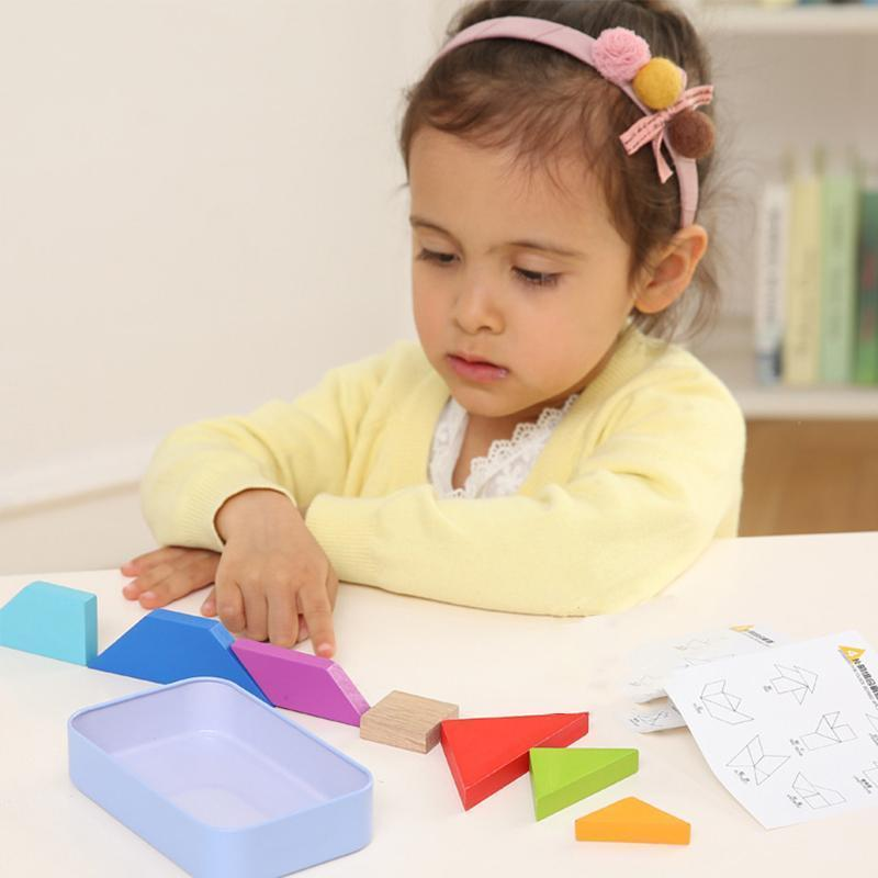 Educational Toy - Puzzle Blocks (7 PCs)