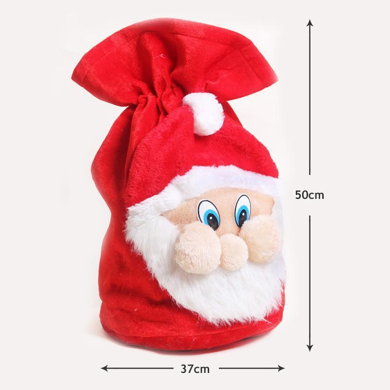 Christmas Decoration Santa Large Sack Stocking Big Gift Bags