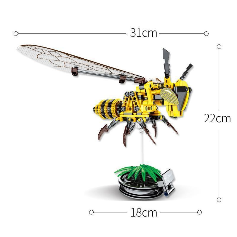 Simulated Insect Building Block Toys