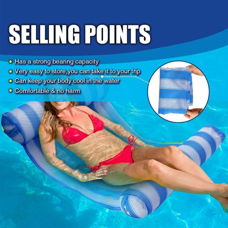 Inflatable Pool Float, Water Hammock