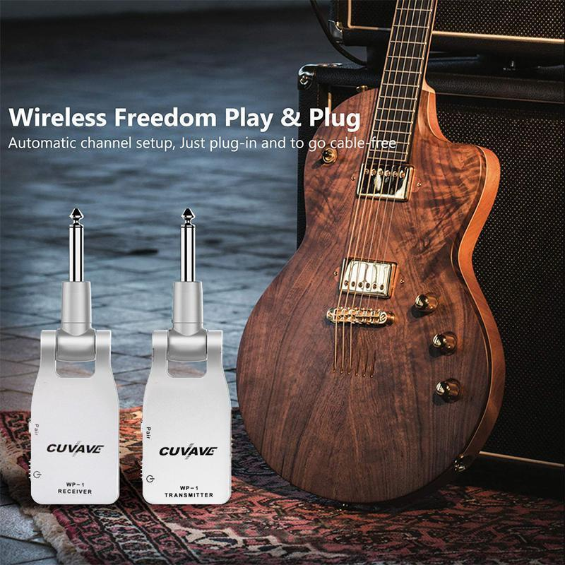 Guitar Transmitter and Receiver (2 in 1)
