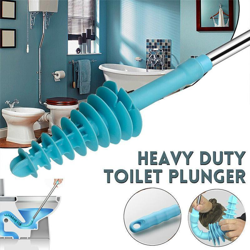 Powerful Toilet Plunger (for Siphon-Type)
