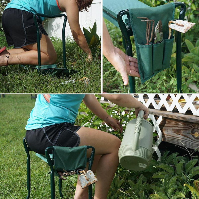 Garden Foldable Stool & Kneeler