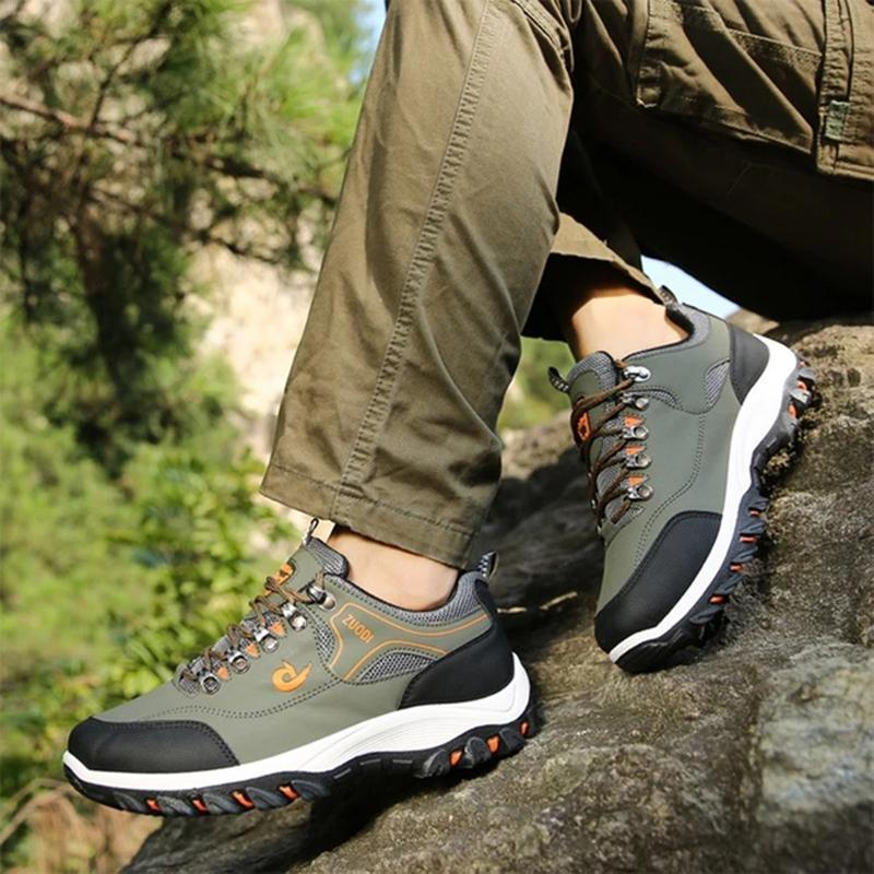 Men's Mesh Breathable Waterproof Athletic Outdoors Sneakers