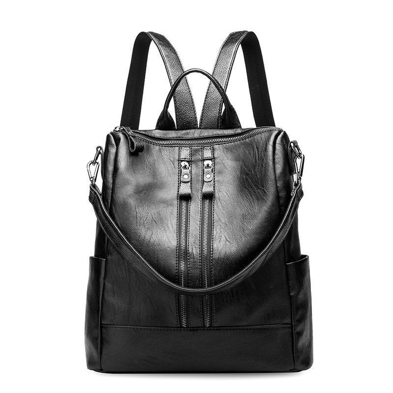 Fashion Leather Travel Multifunction Mummy Backpack