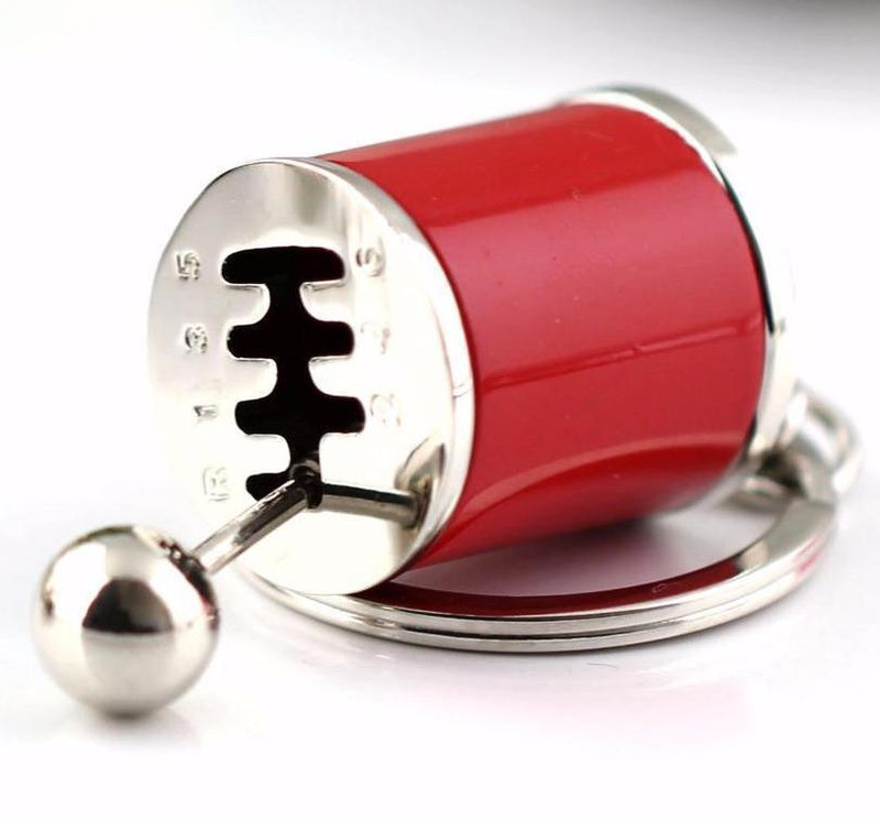 Manual Transmission Shift Lever Model Key Chain