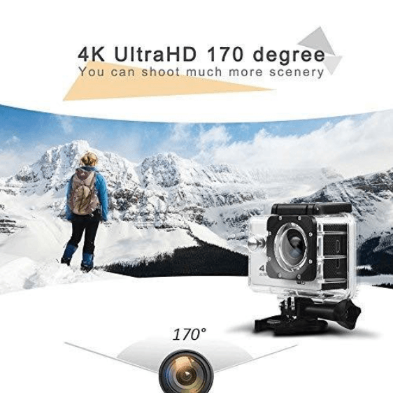 Full HD 4K Action Camera 2.0 LCD Wifi Sports Camera 1080P