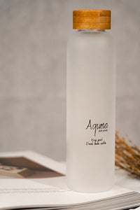 Aquma bottles, To be imperfectly plastic-free,  To be imperfectly sustainable  -Being perfectly hydrated.   ​