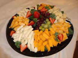 Fresh Fruit & Cheese Tray