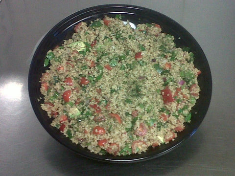 Quinoa Salad  (pronounced keen-wa)