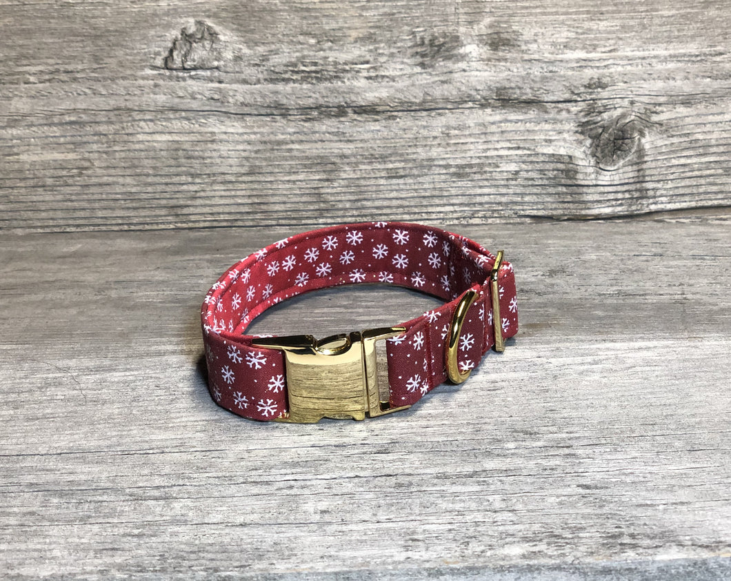 Baby it's Cold Outside - Dog Collar