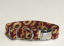 Load image into Gallery viewer, Autumn Sunset- Dog Collar