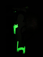 Load image into Gallery viewer, Glow in the Dark Kitty Kicker - Cat Toy