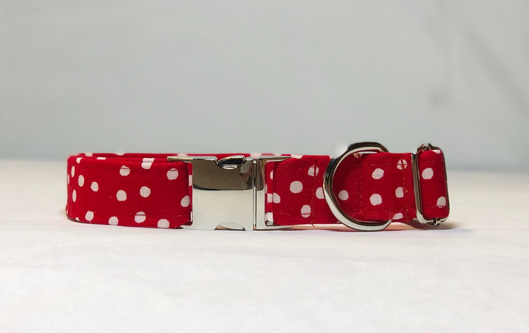 The Minnie Polka- Dog Collar