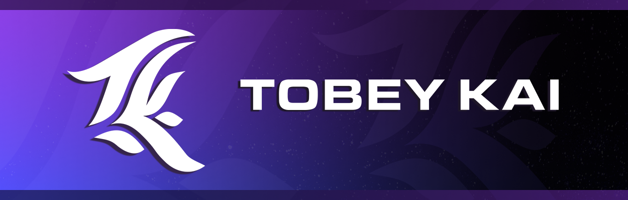 Tobey Kai Official Store Banner Logo
