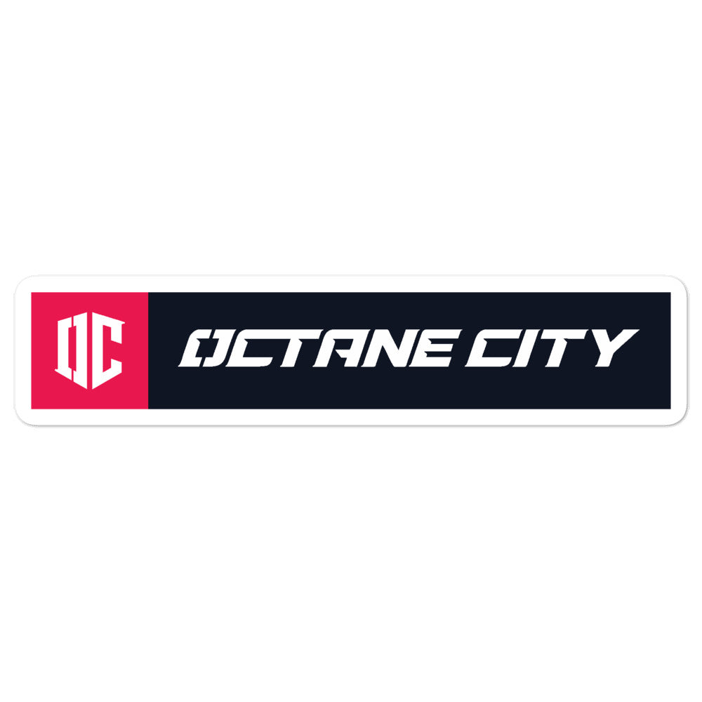 Octane City Logo Sticker