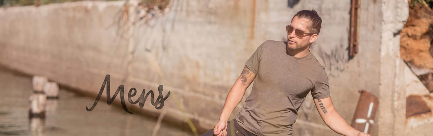 Men's Clothing in Hemp, Bamboo and Cotton