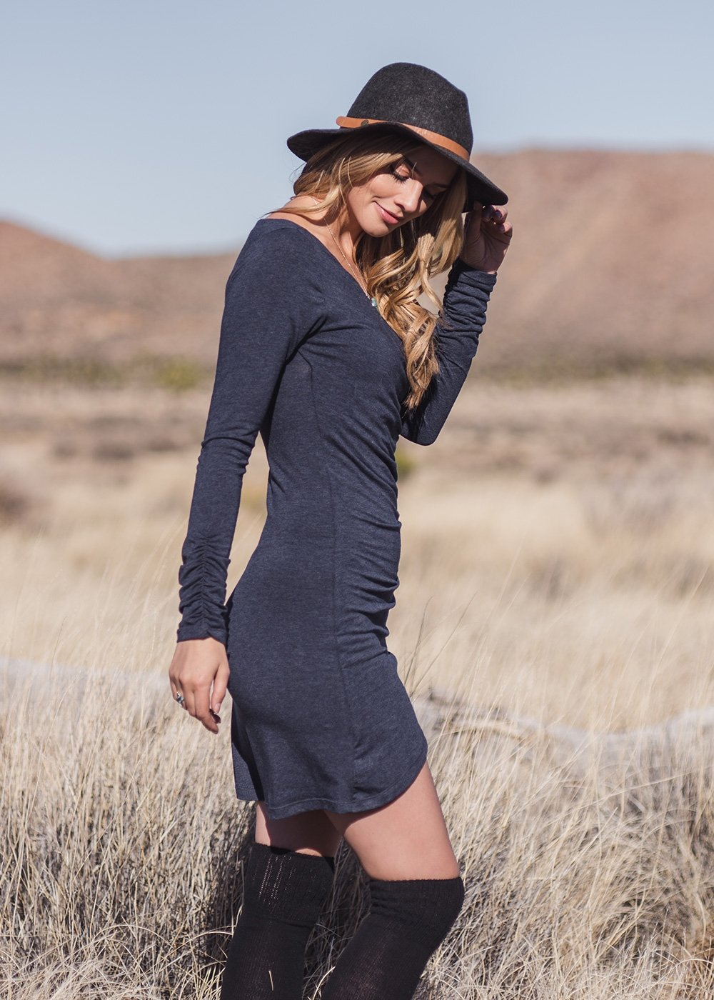Nomads Hemp Wear Nostalgia Dress - Tantrika Clothing