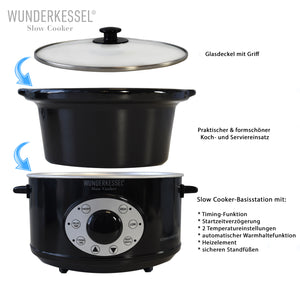 WUNDERKESSEL® Slow Cooker