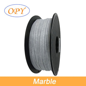 Pla Marble Filament 1.75 Plastic For 3D Printing Print Materials Filaments Fliament Threads Printer 1.75Mm Wire Thread Reels 1Kg