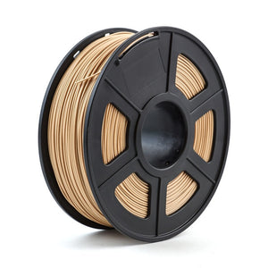 3D Printer Filament Wood 1.75mm 1kg/2.2lb wooden plastic compound material based on PLA contain wood powder