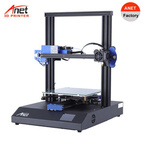 New Hot Anet ET4 X 3D Printer Prusa Auto Loading Filament Detection Resume Printing Micro SD Card USB Connector