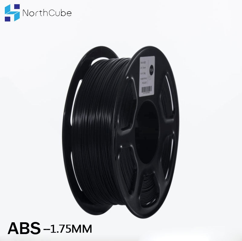ABS filament 3D printer filament 1.75mm 1kg Printing Materials  3D Plastic Printing Filament  Black