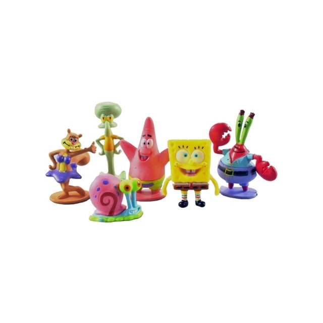 For fish tank and aquarium Decor SpongeBob Figures Ornaments Pineapple House  Fish Tank Decoration Decor Aquarium Accessories