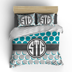 Polka Pot Personalized Bedding