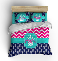 Pineapple Personalized Bedding