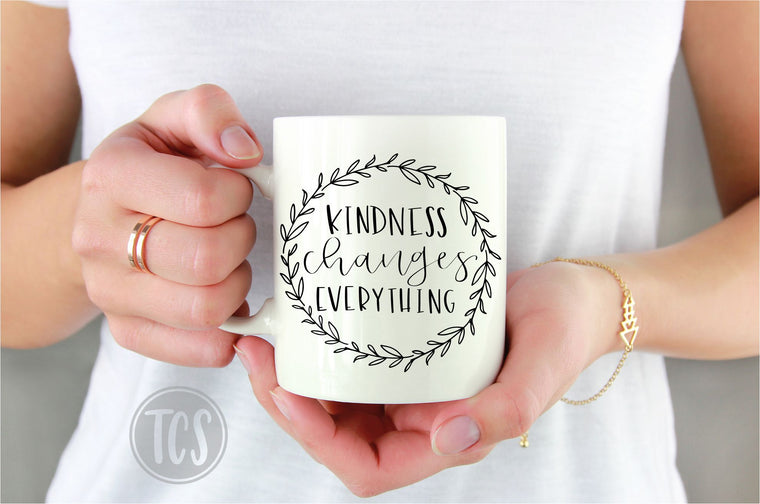 Kindness Changes Everything Coffee Mug (CM1008)