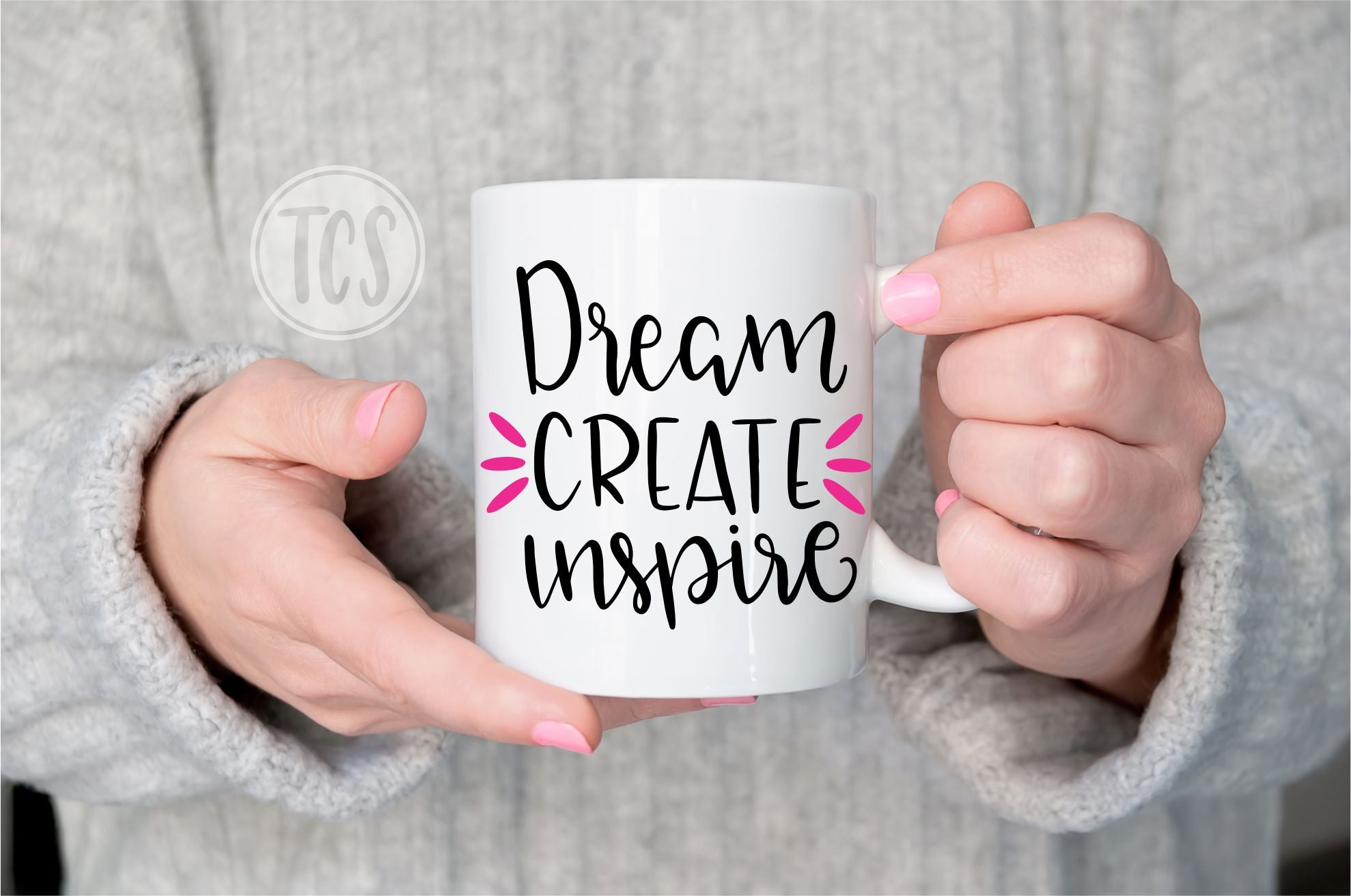 Dream Create Inspire Coffee Mug (CM1019)